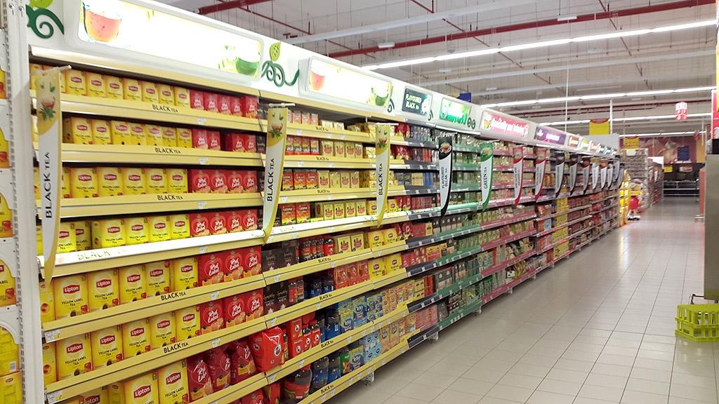 Carrefour, Barka in Oman – Golden Falcon Interior Design