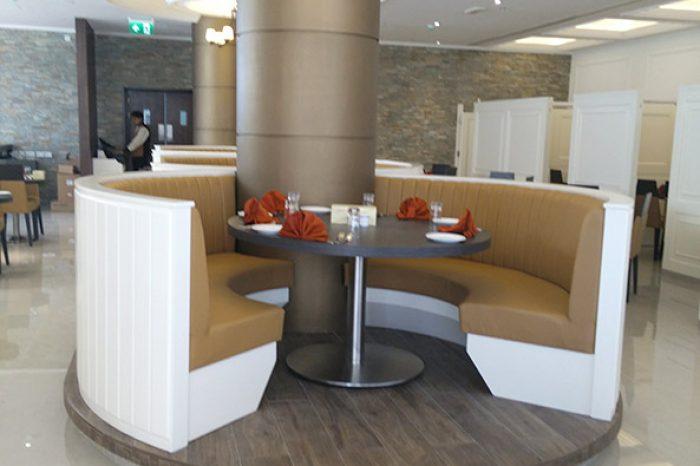 Caesars Restaurant Al Barsha – Golden Falcon Interior Design Company